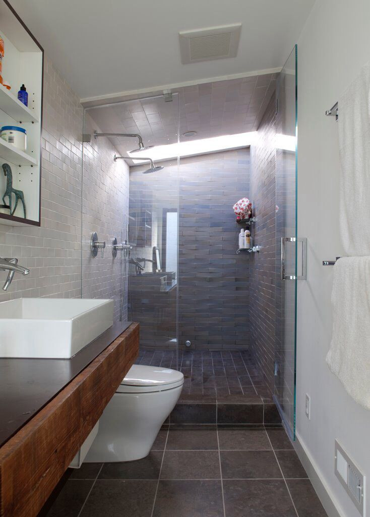 Small Narrow Bathroom Ideas  1000 images about Small narrow bathroom ideas for Boulder