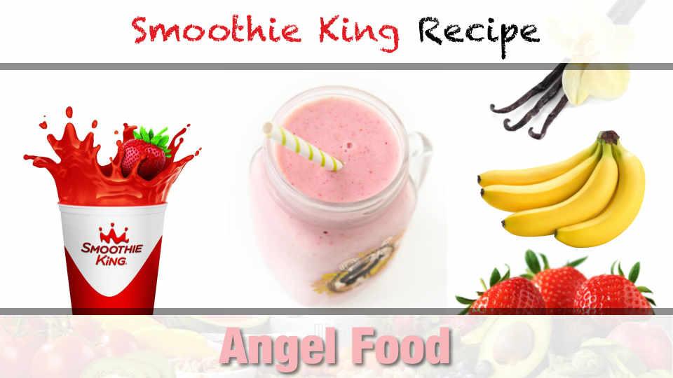 Smoothie King Recipes  Smoothie King Angel Food Smoothie Recipe Make Drinks