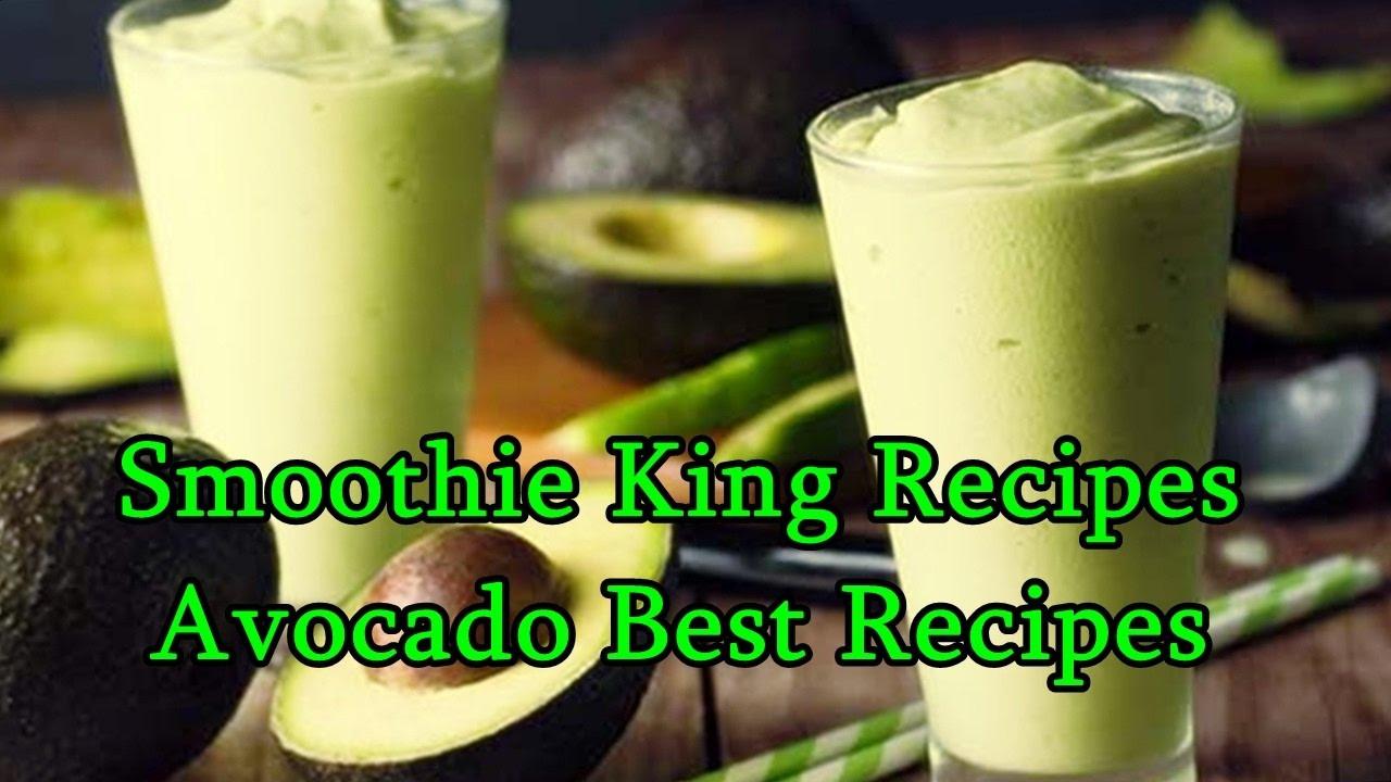 Smoothie King Recipes  Smoothie King Recipes Avocado Best Recipes