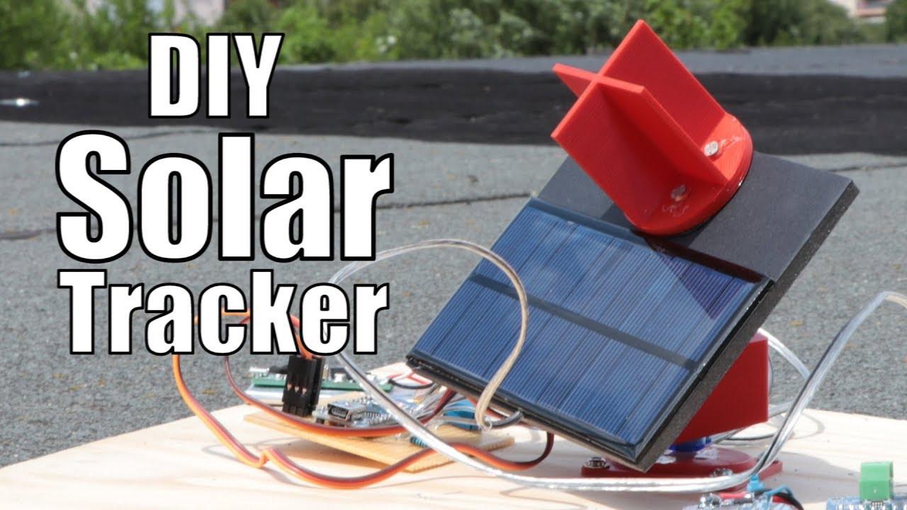 Solar Tracker DIY  DIY Solar Tracker How much solar energy can it save