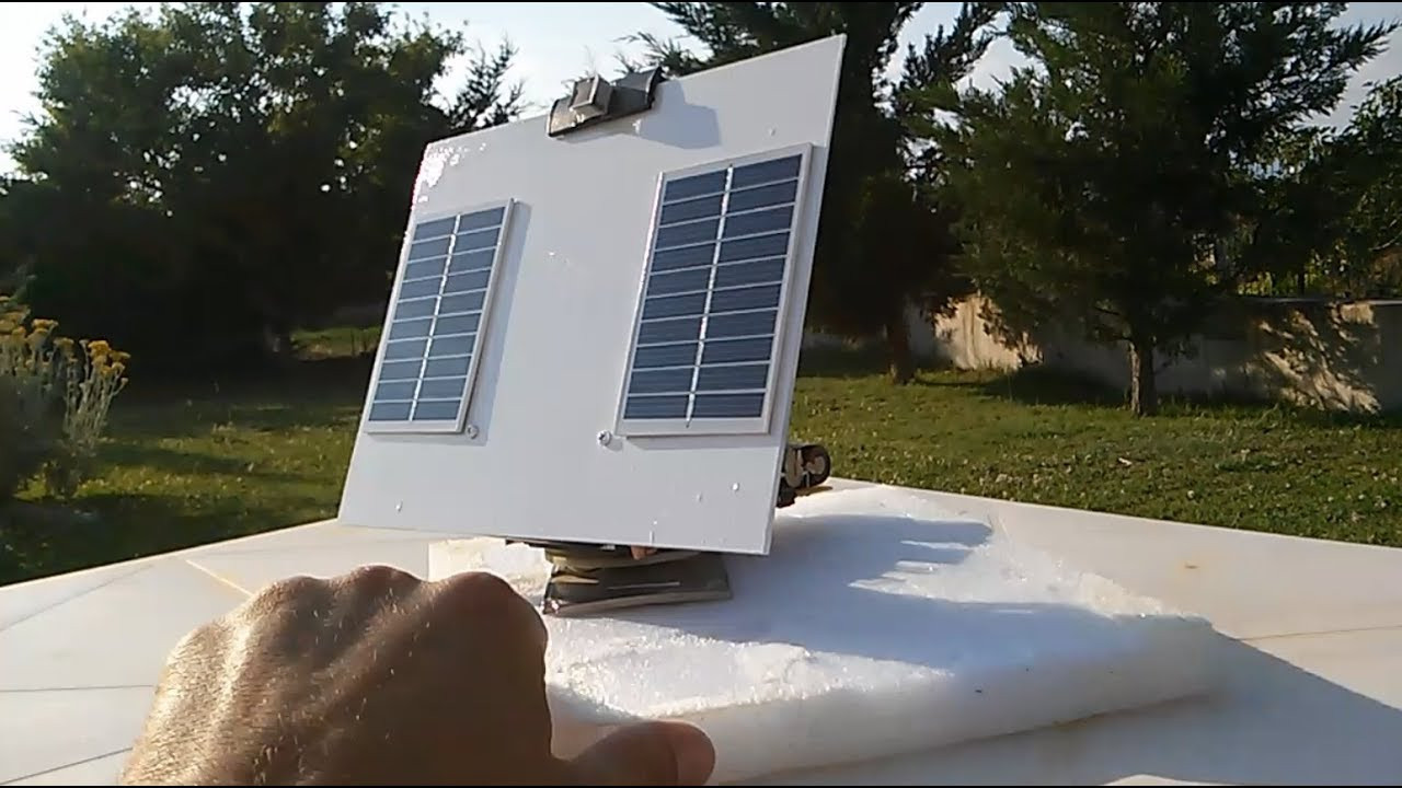 Solar Tracker DIY  DIY Simple Solar Tracker 2