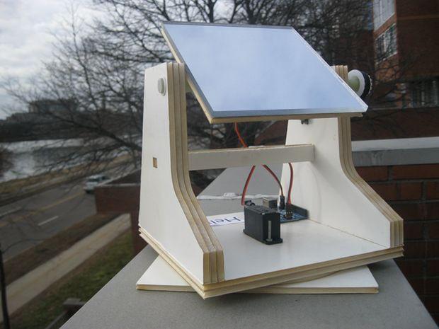 Solar Tracker DIY  DIY Solar Tracker