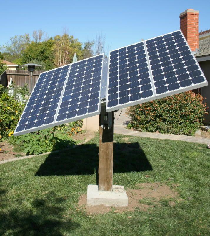 Solar Tracker DIY  Palle Solar Instant Diy sun tracking solar panel mount
