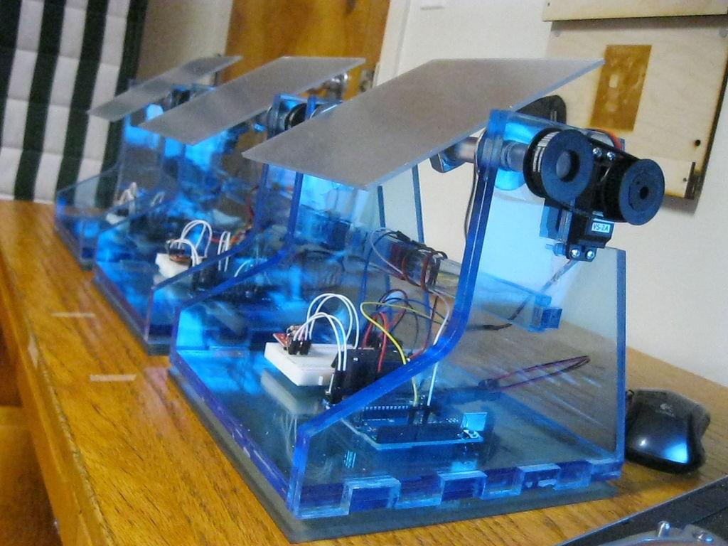 Solar Tracker DIY  DIY Solar Tracker 27 Steps with