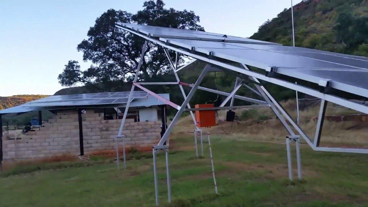 Solar Tracker DIY  Diy single axis solar tracker 2 0
