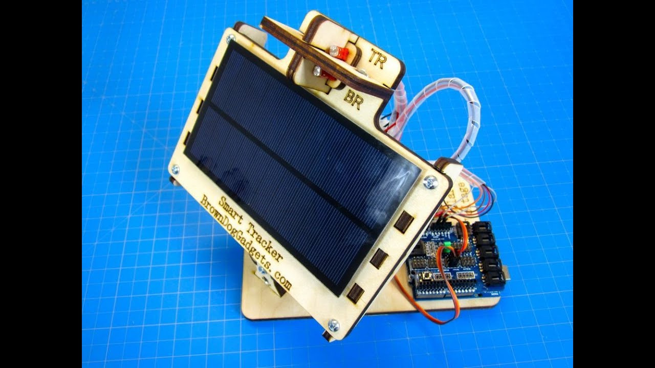 Solar Tracker DIY  Dual Axis Solar Tracker DIY Arduino Powered