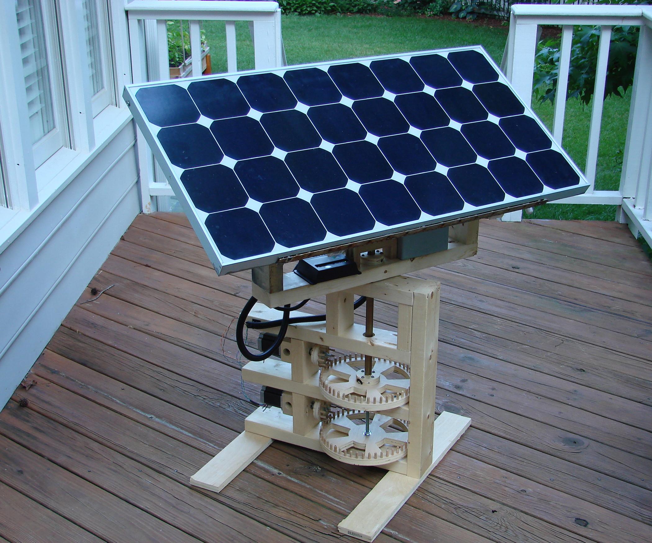 Solar Tracker DIY  Internet Enabled Solar Tracker