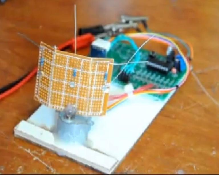 Solar Tracker DIY  Single Axis PIC Controlled Solar Tracker DIY Kit