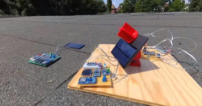 Solar Tracker DIY  DIY A Mini Solar Tracker That Follows The SUN