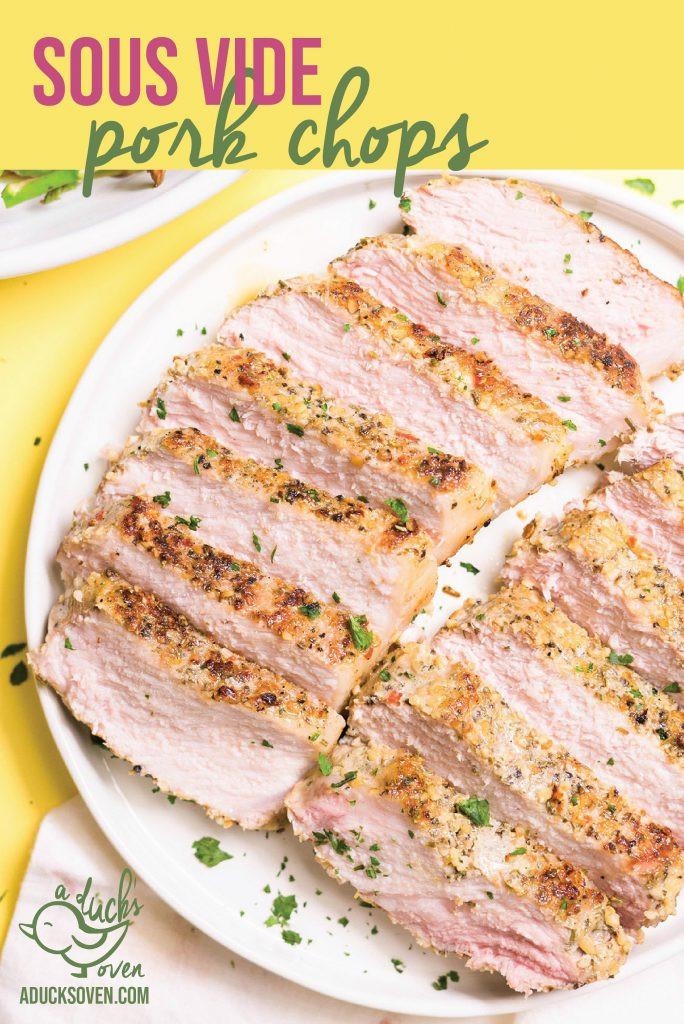 Sous Vide Frozen Pork Chops  Sous Vide Pork Chops A Duck s Oven