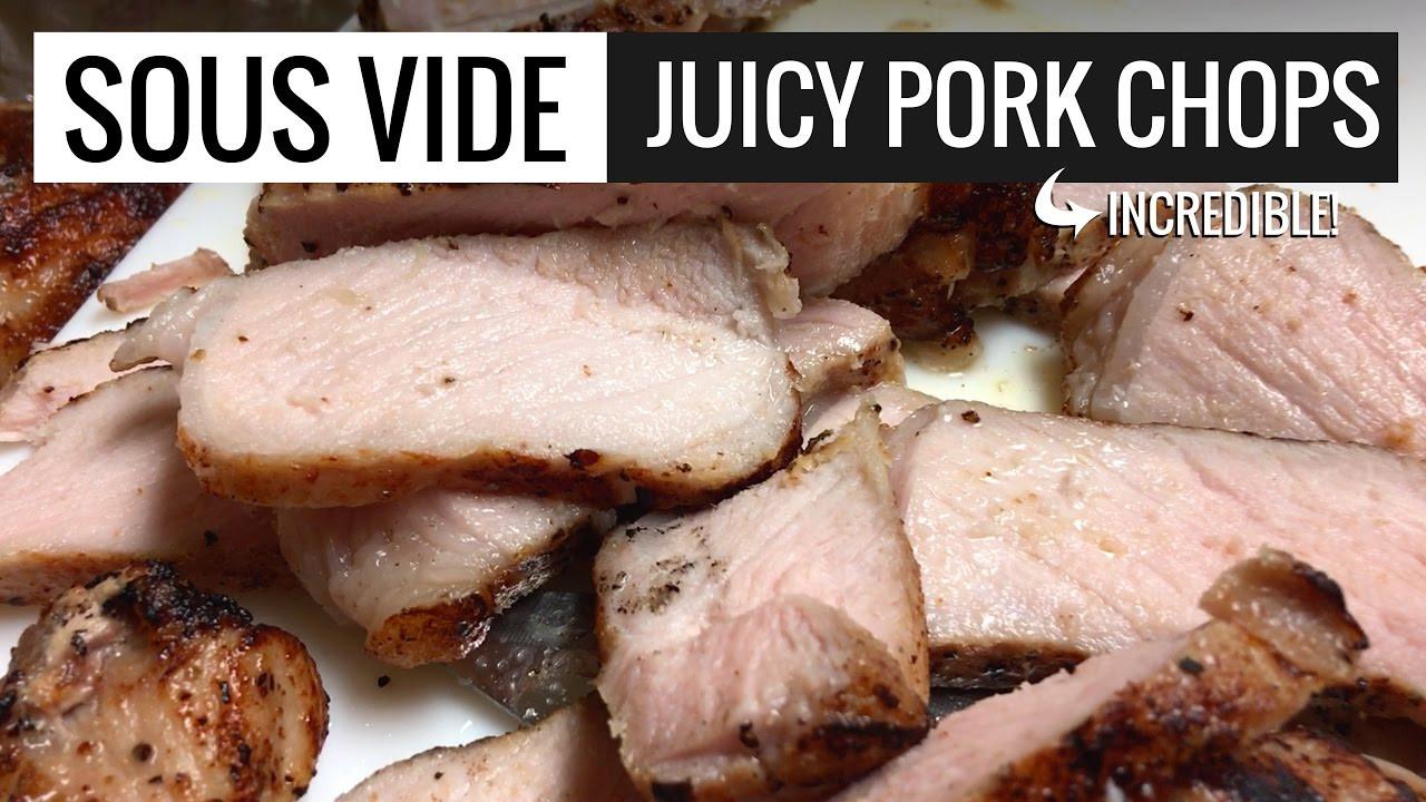 Sous Vide Frozen Pork Chops  Pork Chops Sous Vide by Sous Vide Everything Perfect Pork
