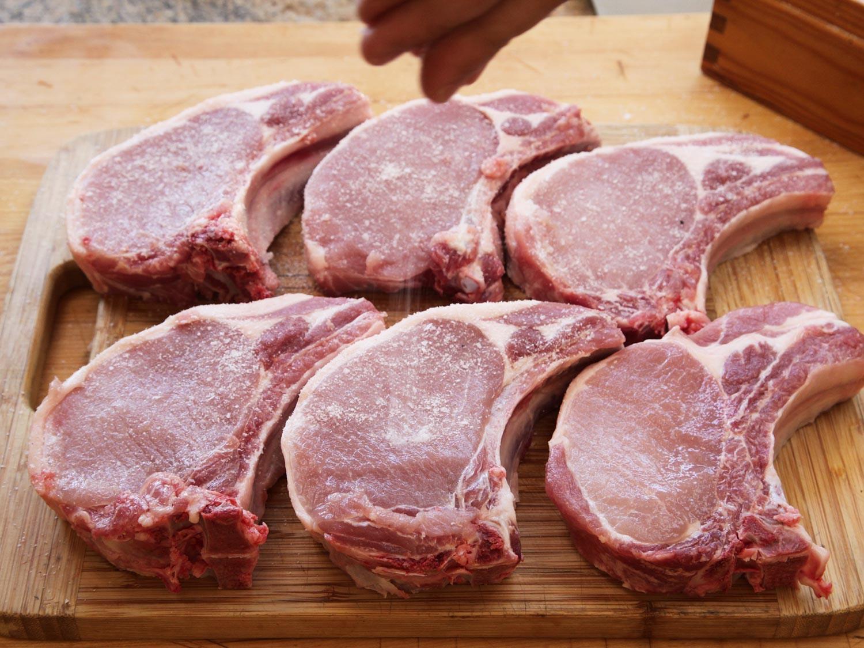 Sous Vide Frozen Pork Chops  The Food Lab s plete Guide to Sous Vide Pork Chops