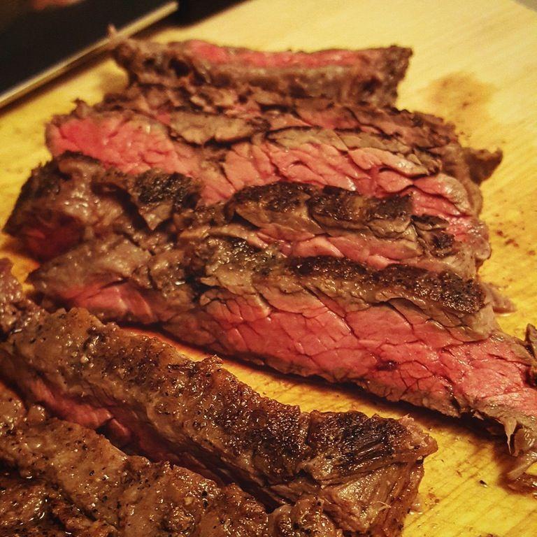 Sous Vide Skirt Steak Fajitas  Skirt Steaks for Fajitas 136F for 75 minutes
