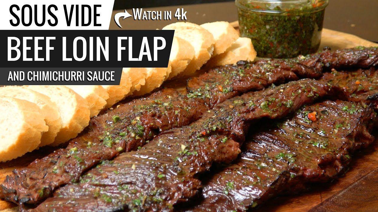 Sous Vide Skirt Steak Fajitas  BEEF LOIN FLAP STEAK Sous Vide Argentinian CHURRASCO and