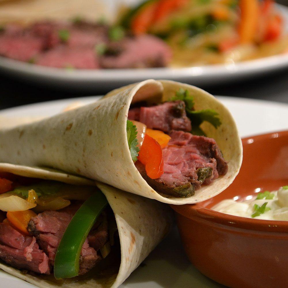 Sous Vide Skirt Steak Fajitas  Skirt Steak Fajitas Grant Creative Cuisine