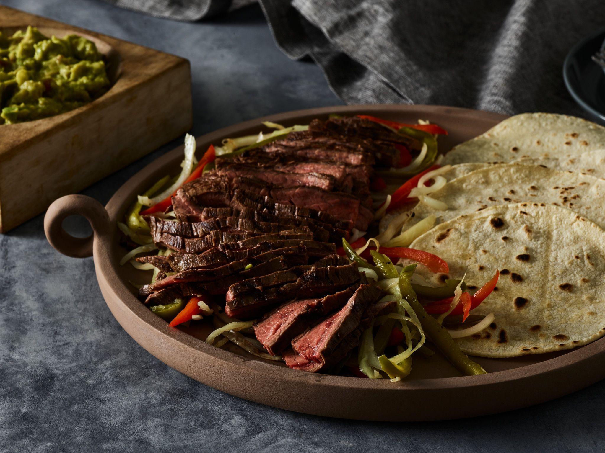 Sous Vide Skirt Steak Fajitas  Classic Fajitas