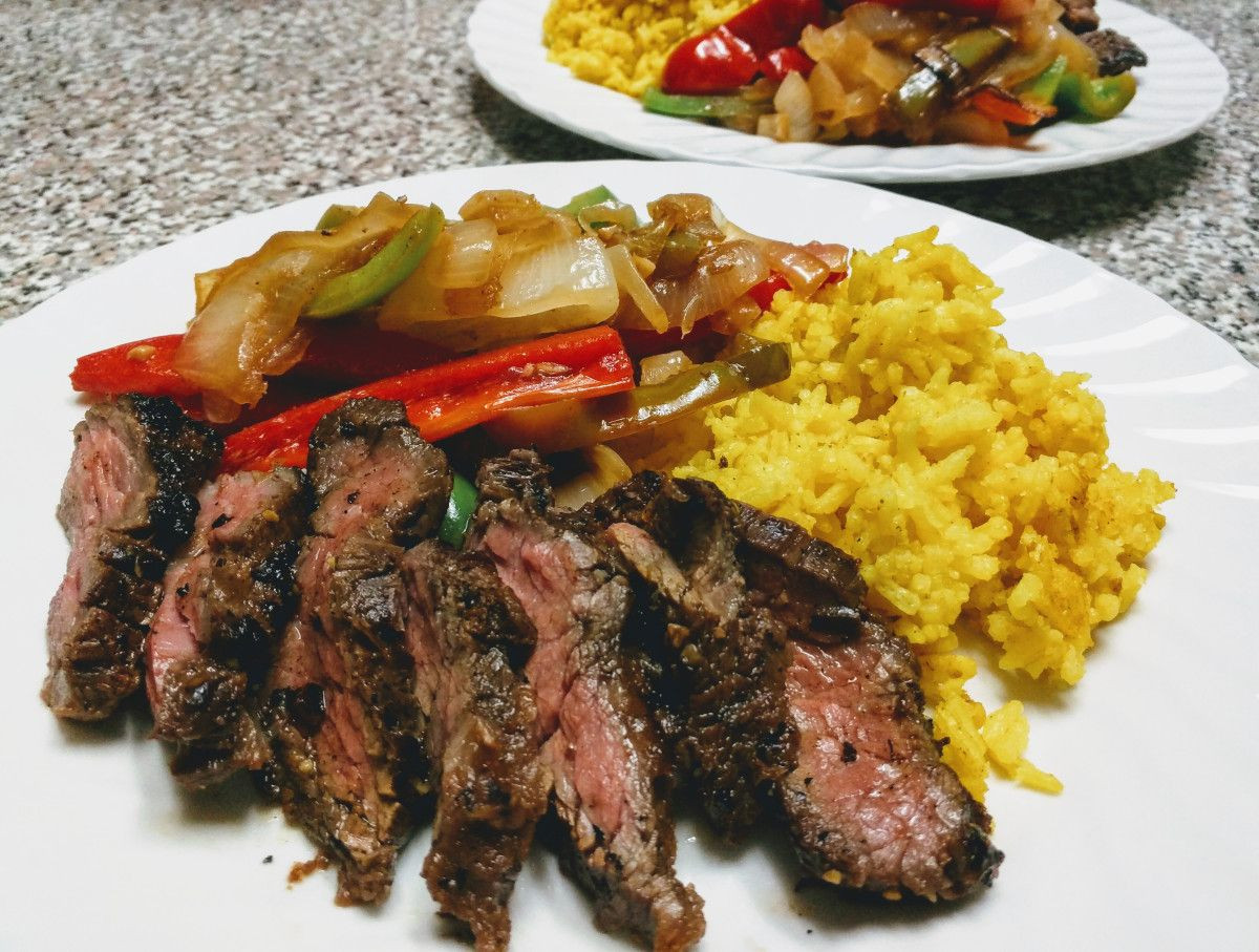 Sous Vide Skirt Steak Fajitas  Sous vide fajita style grilled steak