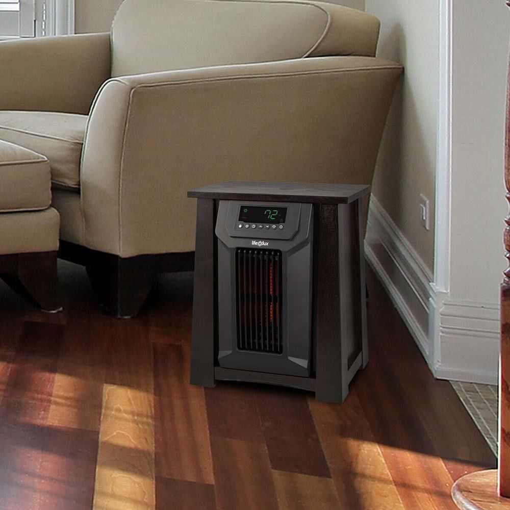 Space Heater For Kids Room  6 Element Room Infrared Space Heater