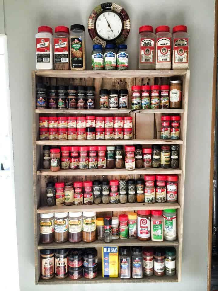 Spice Rack Ideas DIY  30 Spice Rack Ideas Clever & Practical Spice Storage