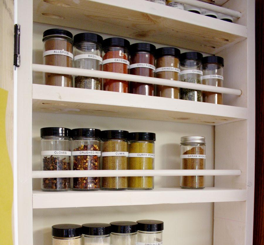 Spice Rack Ideas DIY  How To Build A DIY Spice Rack