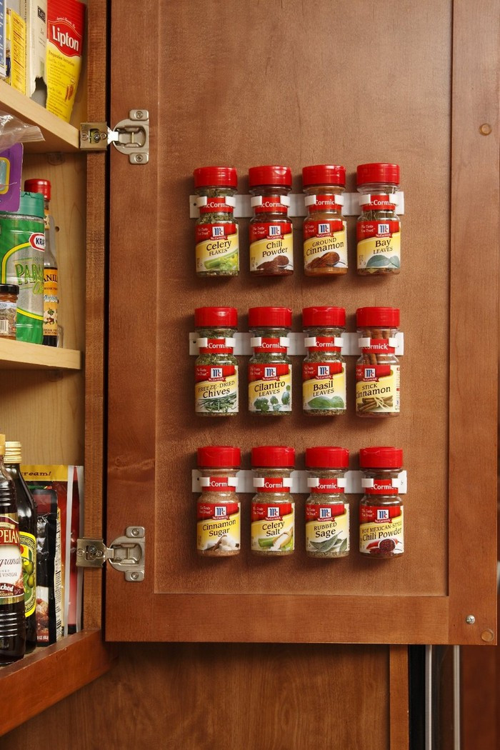 Spice Rack Ideas DIY  How to make a built in spice rack