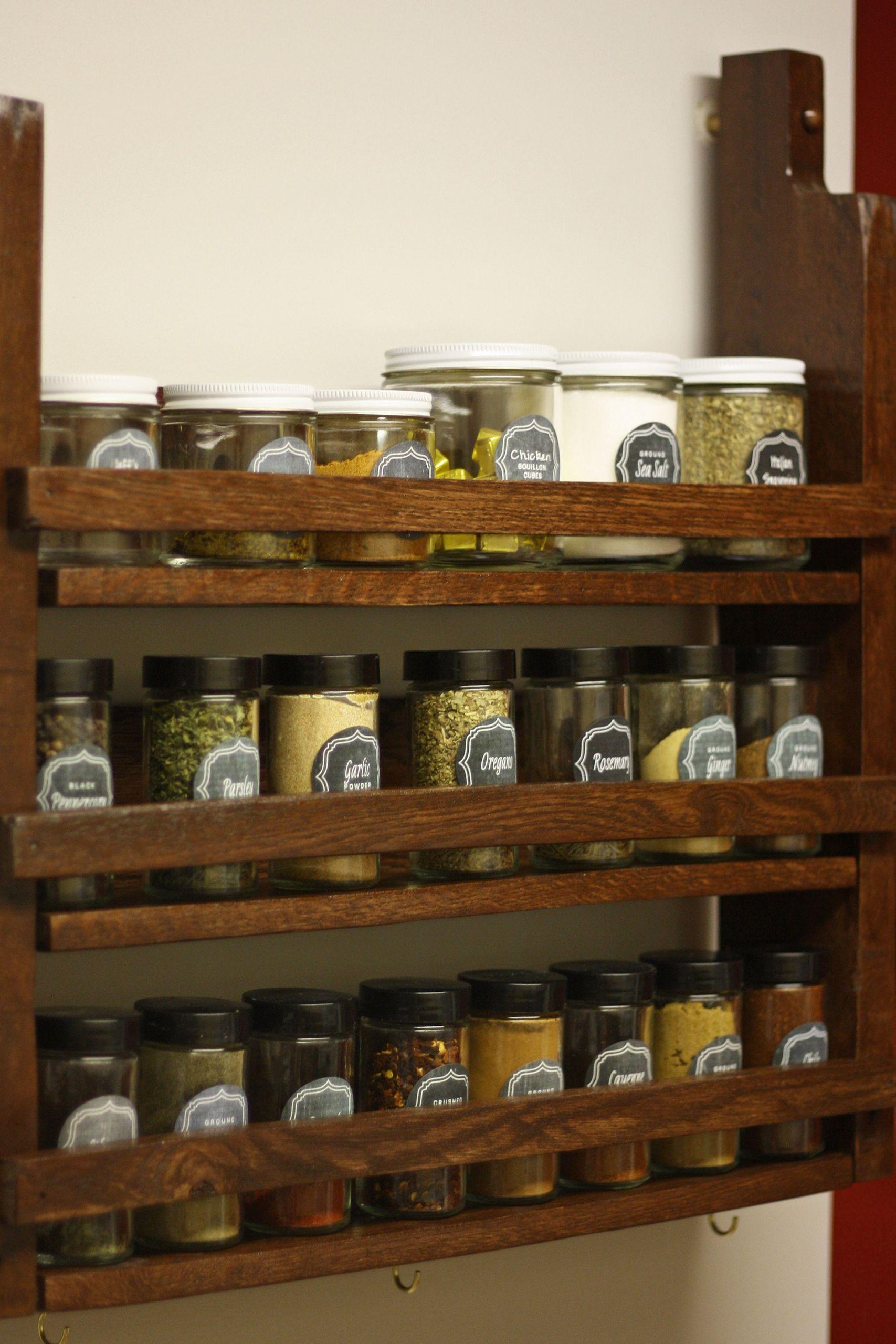 Spice Rack Ideas DIY  Spice Rack
