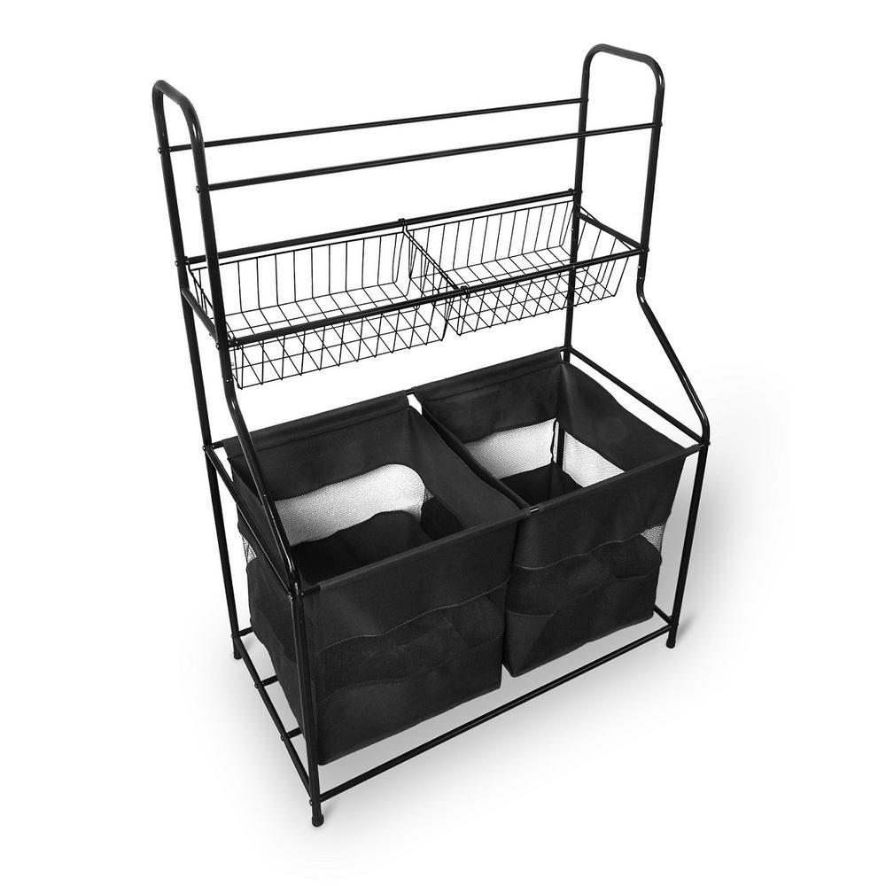 Sports Equipment Organizer For Garage  48 62 in x 32 09 in x 17 75 in Metal Sport Storage