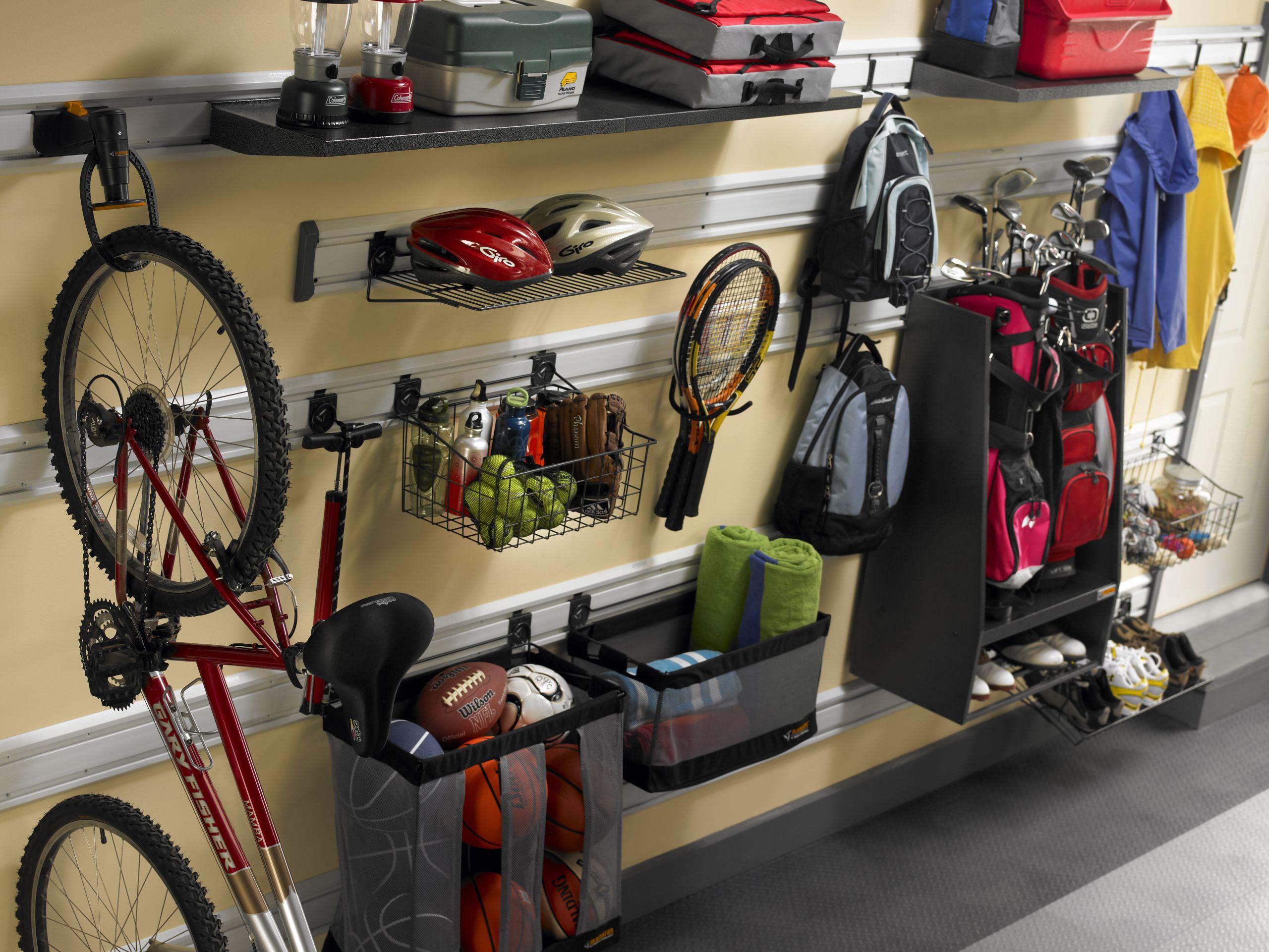 Sports Equipment Organizer For Garage  Orlando Garage Storage