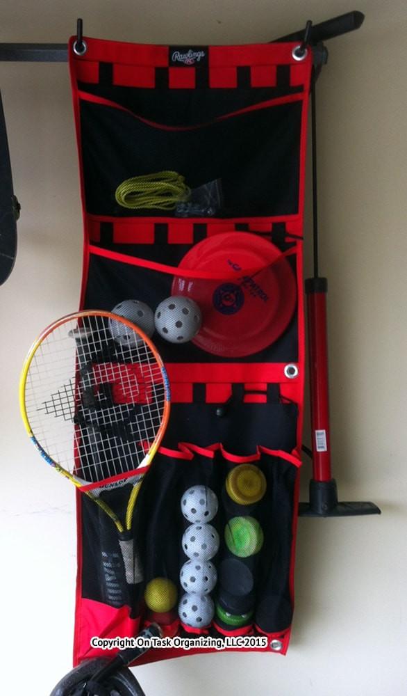 Sports Equipment Organizer For Garage  Storing Sports Equipment