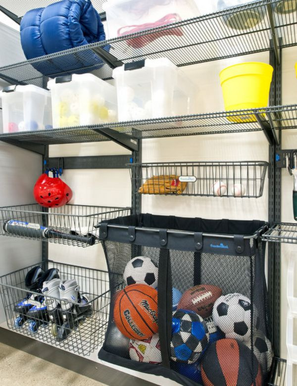 Sports Equipment Organizer For Garage  Time To Sort Out The Mess – 20 Tips For A Well Organized