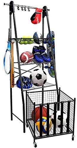 Sports Equipment Organizer For Garage  Sports Equipment Garage Organizer savesoo