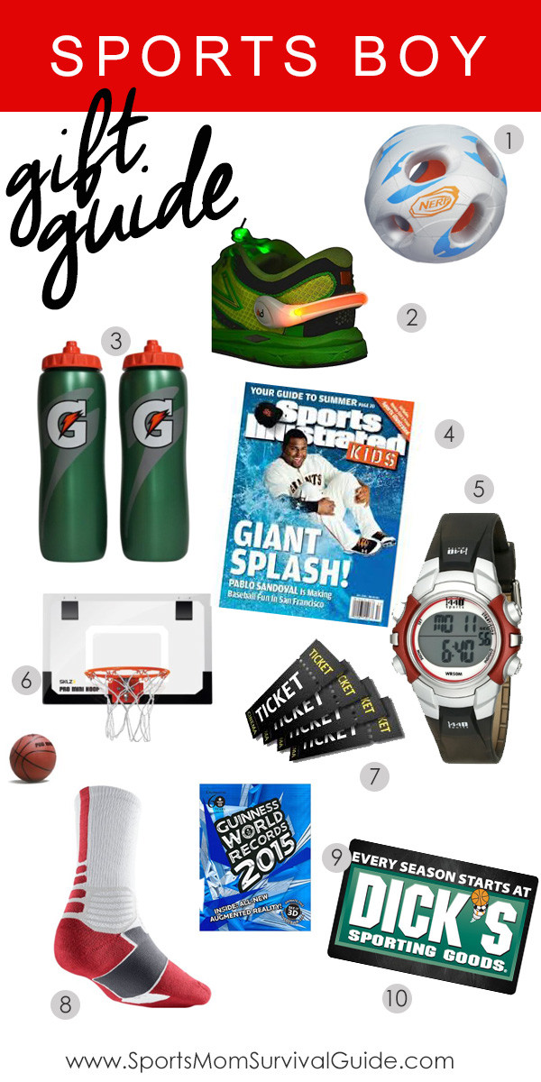 Sports Gift Ideas For Boys  Sports Boy Holiday Gift Guide