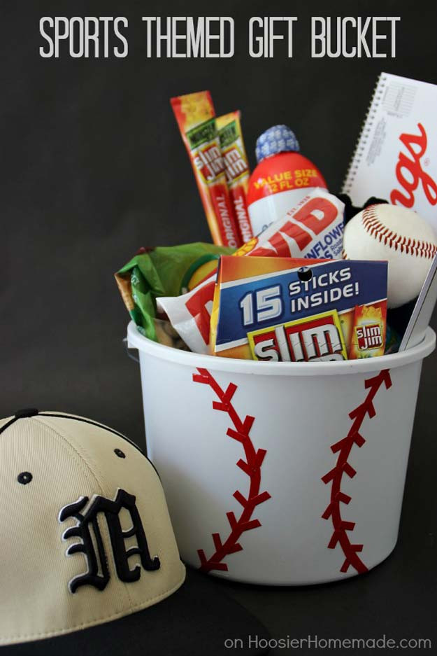 Sports Gift Ideas For Boys  32 Awesome DIY Gifts for Your Boyfriend DIY Projects for
