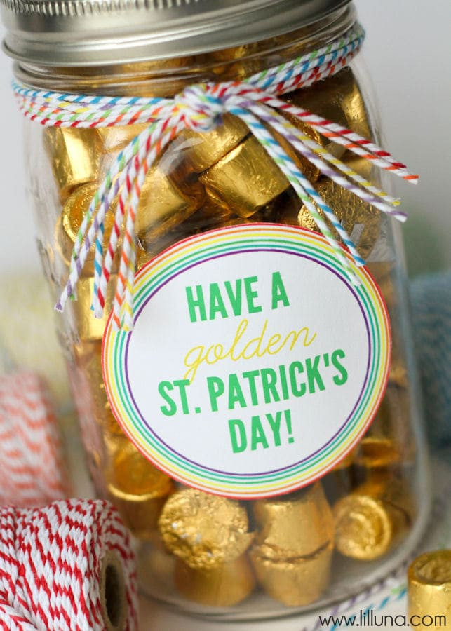 St Patrick's Day Gifts  Golden Gift Idea