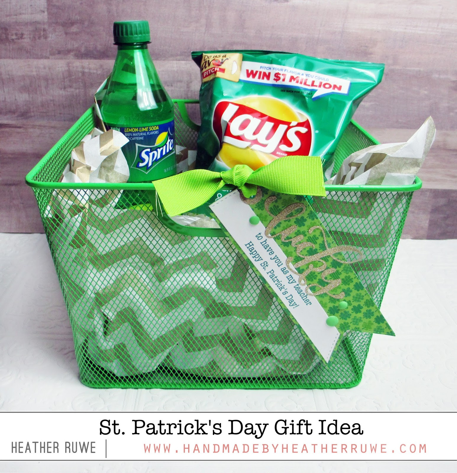 St Patrick's Day Gifts  Handmade by Heather Ruwe St Patrick s Day Gift Idea
