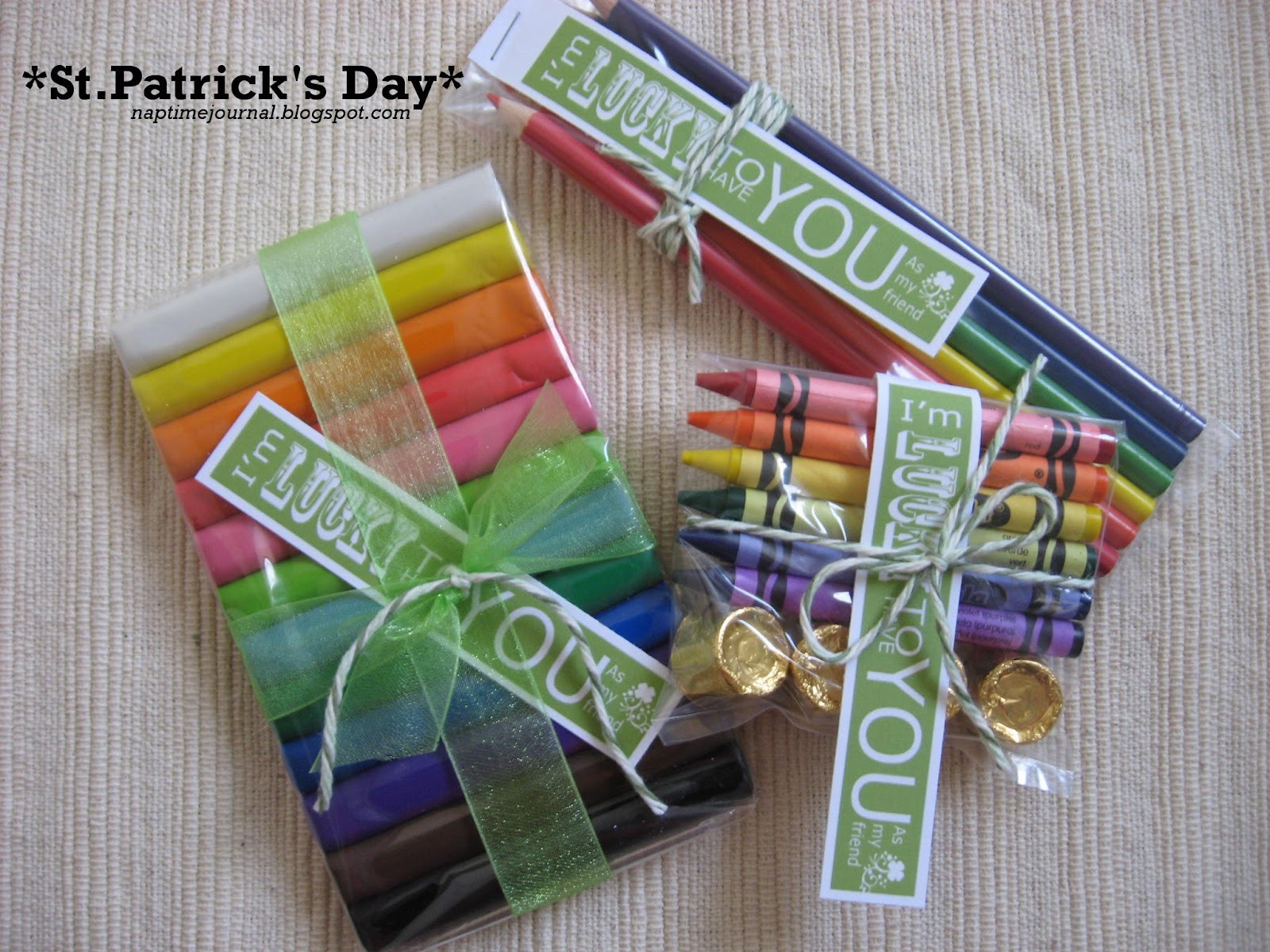 St Patrick's Day Gifts  Nap Time Journal St Patrick s Day Idea t for friends