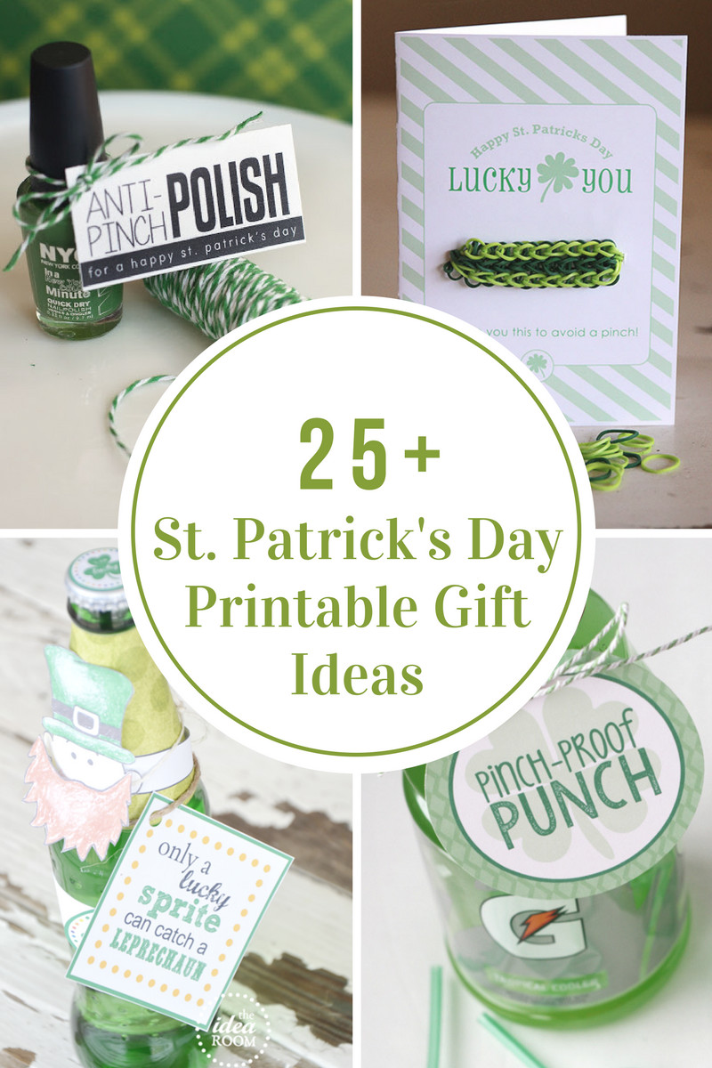 St Patrick's Day Gifts  St Patrick s Day Printables The Idea Room