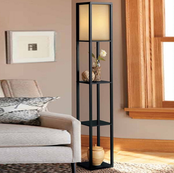 Standing Lamps For Living Room  Wooden Floor Lamp Modern Minimalist Living Room Light