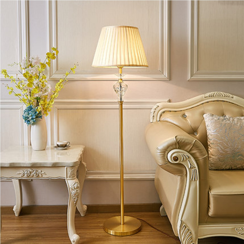 Standing Lamps For Living Room  Nordic Lamp Floor Crystal Floor Lamps LED Floor Lamps for