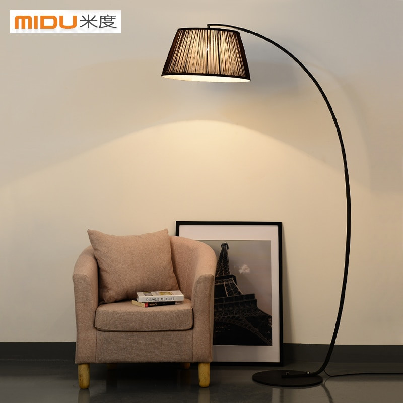 Standing Lamps For Living Room  American country bedroom floor lamp standing lamp modern