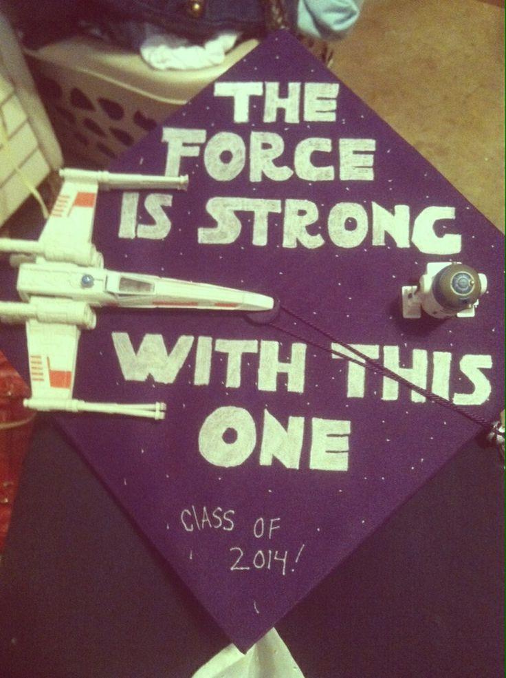 Star Wars Graduation Quotes  33 best images about Grad Caps on Pinterest