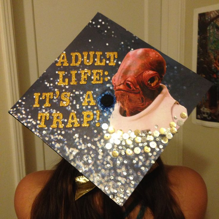 Star Wars Graduation Quotes  17 Best images about Graduation Caps on Pinterest