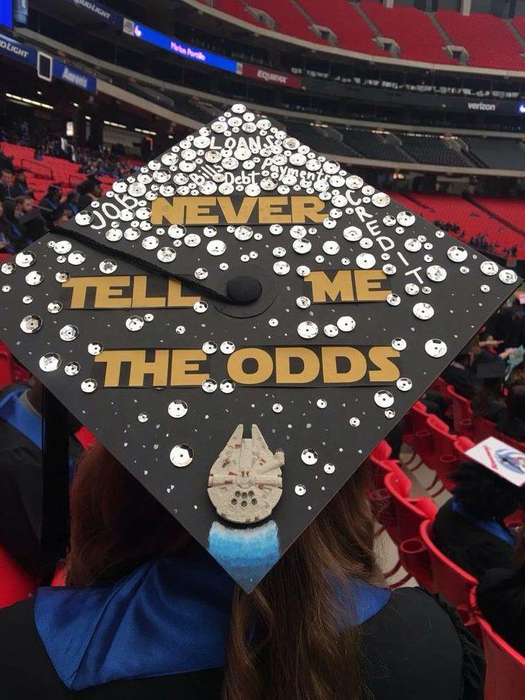 Star Wars Graduation Quotes  1176 best images about Graduation Cap Designs on Pinterest