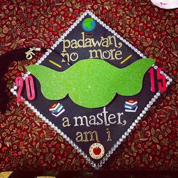 Star Wars Graduation Quotes  50 Super Cool Graduation Cap Ideas Hative