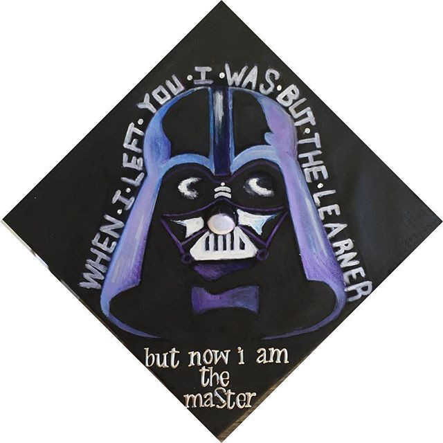 Star Wars Graduation Quotes  8 Star Wars Grad Caps Perfect For Any Jedi or Sith