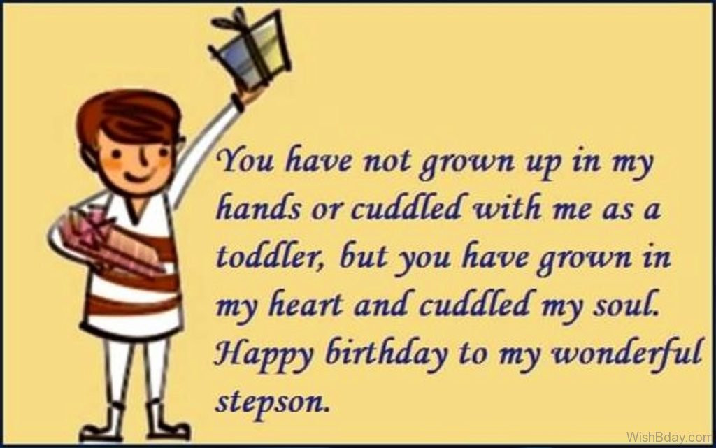 Step Son Birthday Quotes  48 Birthday Wishes For Stepson