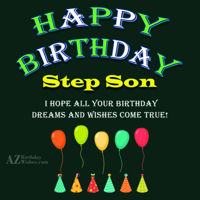 Step Son Birthday Quotes  Birthday Wishes For Step Son