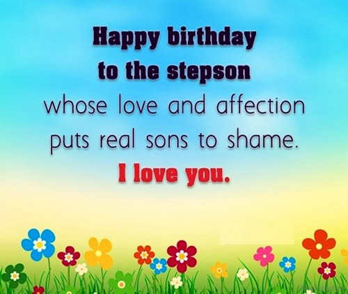 Step Son Birthday Quotes  Happy Birthday Step Son Quotes and Messages