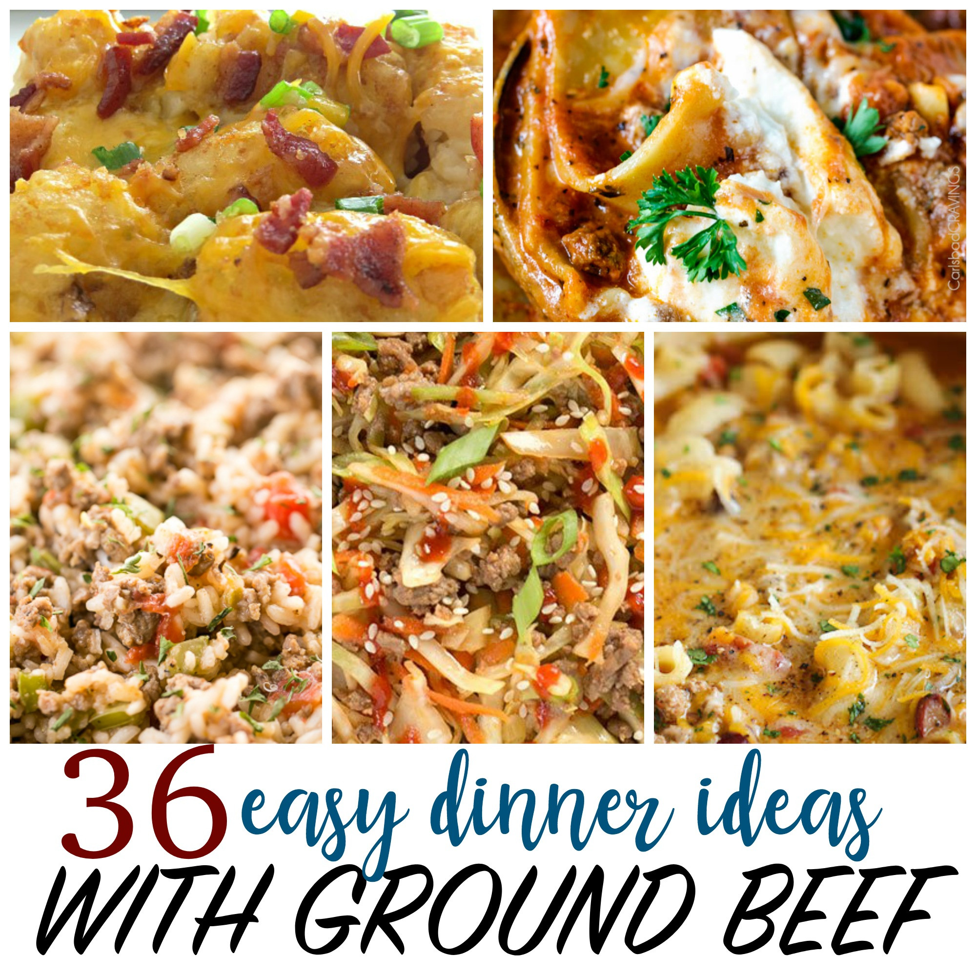 Stuff To Make With Ground Beef  Cheap Recipes 36 Things to Make with Ground Beef