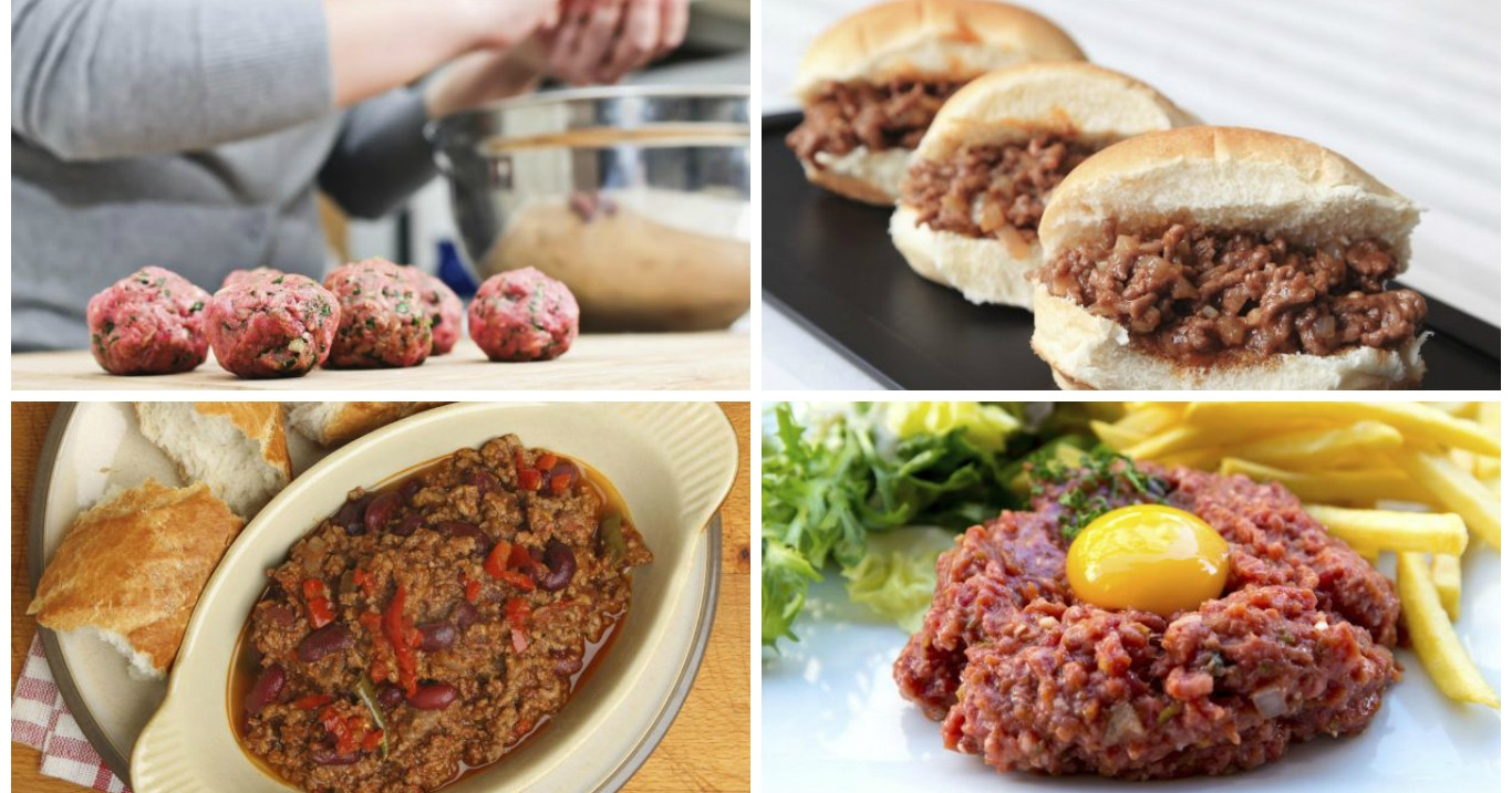 Stuff To Make With Ground Beef  10 things you can make with ground beef in record time